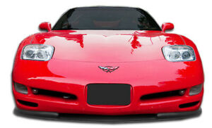 97 04 Chevrolet Corvette Vortex Duraflex Front Bumper Lip Body Kit 106143