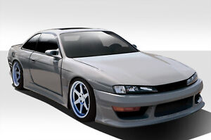 97 98 Fits Nissan 240sx V Speed Duraflex 8 Pcs Full Wide Body Kit 109518