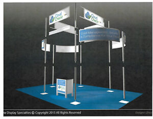 Used Trade Show Booth In Near Perfect Condition 17 x11 x14