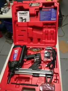 Powers Trak it C 5 Cordless Fastening System 55142 Deep Track free Shipping