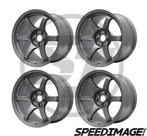 4x Gram Lights 57dr 17x9 38 5x100 Gun Blue Gunblue Set Of 4 Wheels Wheel