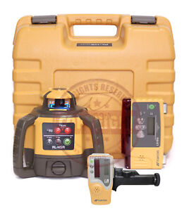 Topcon Rl h5a Ls b10 Self leveling Rotary Grade Laser Level Slope Transit