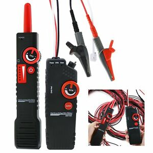 Network Cable Tracker Detector Wire Locator Coax Bnc Tester With Alligator Clip