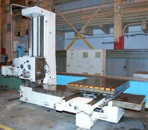 4 Supermill Mdr110 Table Type Horizontal Boring Mill 28463