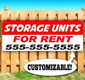 Storage Units For Rent Customize Advertising Vinyl Banner Flag Sign Many Sizes