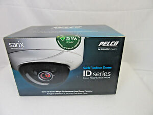 Pelco Sarix Ids0c8 1 Fixed Indoor outdoor Dome 3 1mp Security Camera W lens