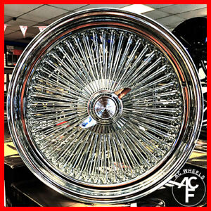 17 X8 Std Wire Wheel Fit Cadillac 2pcs Only