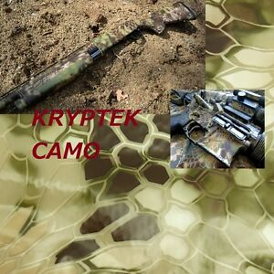 19x393 Kryptek Reduced Camo Hydrographics Dipping Film Water Transfer Printing