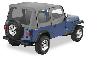Bestop 5112009 20 Refund Replace a top Soft Top 88 95 Jeep Wrangler Yj