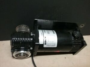 Bison Dc Right Angle Gearmotor 90vdc 1 8hp 180rpm 10 1 Ratio 021 750 3610 J258