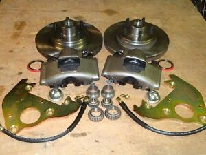 1954 1955 1956 Ford Fairlane Front Disc Brake Conversion fits Orig 15 Wheels