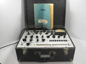 Hickok 752a Vintage Dynamic Mutual Conductance Tube Tester Sn 297 00535