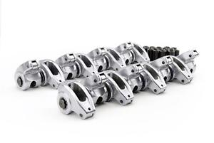 Comp Cams 17001 16 Sbc Chevy High Energy Aluminum Roller Rockers 1 5 Ratio 3 8
