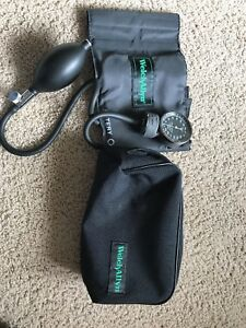 Welch Allyn Sphygmomanometer Blood Pressure Cuff Adult With Carrying Case