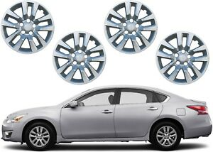 4pc 16 Replacement Silver Hub Caps For 2013 2017 Nissan Altima New Free Ship