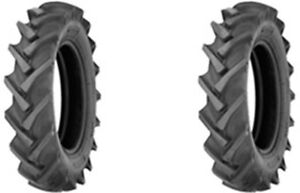 two 7 50 16 Alliance 324 Farm Pro R 1 Lug Tractor Tires Tubes 8 Ply Rated