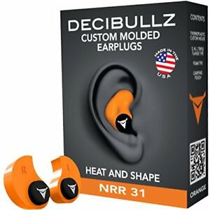 Decibullz Custom Molded Earplugs 31db Highest Nrr Hearing Protection Shooting