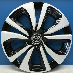 One 17 18 Toyota Prius Prime 61182 15 Oem Hubcap Wheel Cover 42602 47240 New