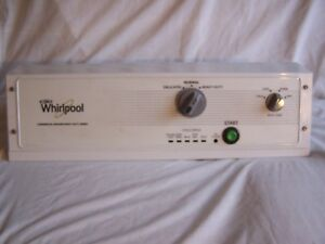 Whirlpool Commercial Automatic Washer Coin Op Control Panel Cae2743bq0 Switch