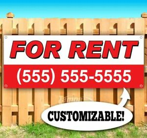For Rent Customize Phone Number Advertising Vinyl Banner Flag Sign Usa