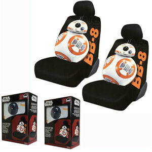 New Star Wars The Force Awakens Bb 8 Front Pair Low Back Car Seat Covers