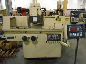 Brown Sharpe 8 24 Fully Automatic 3 Axis Surface Grinder Micr a