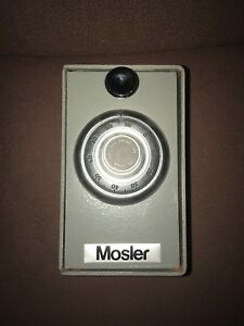Mosler Safe Ilco Lock Wall Desk Security Container