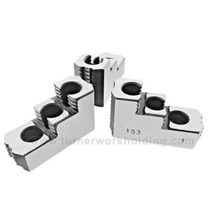 8 Hard Jaws For Kitagawa B 208 Type 1 5mm X 60 Cnc Lathe Chuck Hardened 3 New