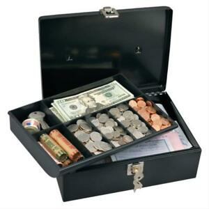 Master Lock 7113d Cash Box With 7 Compartment Tray Pack Of 3