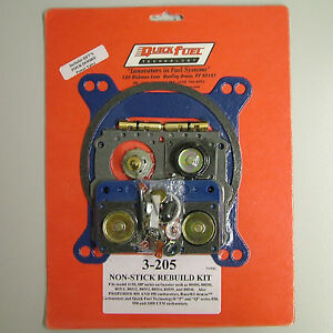 Quick Fuel 3 205 Holley Proform Hp 850 950 Rebuild Kit