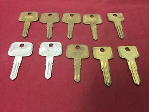 Honda Volvo By Curtis Automotive Hd70 Vl4 Key Blanks Set Of 10 Locksmith