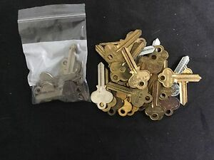 Corbin Russwin By Natl Curtis Ru1 Ru7 Key Blanks Set Of 36 Locksmith