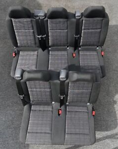 Genuine Mercedes Benz Metris Seats Dual Rows Van Original Oem Take Off Bench