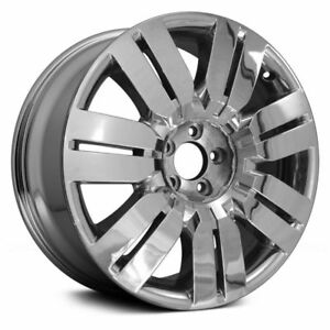 New 20 Cladded Chrome Alloy Wheel Rim Fits 2010 Lincoln Mkx