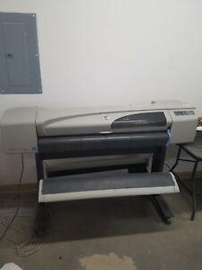 Hp Designjet 500 42 Plotter Wide Format Roll Printer