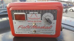Vintage Wards Field Marshal Electric Fence Charger Northern Signal Saukville Wi