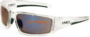 Uvex Honeywell Clear Ice Blue Lens Safety Glasses Anti fog Uvextreme Plus S2975