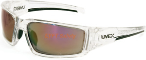 Uvex Honeywell Clear Ice Red Lens Safety Glasses Anti fog Uvextreme Plus S2974