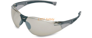 Uvex Honeywell I o Silver Mirror Lens Safety Glasses Antifog Uvextreme A804