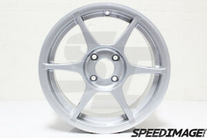 356 Alloy Wheels Tfs401 15x7 35 4x100 Silver For Miata Civic Eg Ek Xa Xb