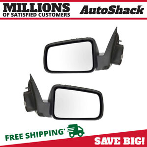 Power Side View Mirror Pair For 2008 2009 2010 2011 Ford Focus Paint To Match