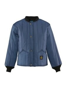 Refrigiwear Cooler Wear Navy Jacket 0525r Size Small New With Tags