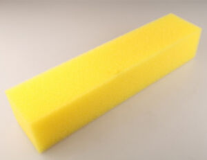 Fuel Cell Foam 18 X 4 X 3 5 For Gas Gasoline E85 Alcohol Safety Yellow