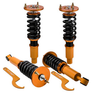 For 1995 1999 Mitsubishi Eclipse Coilover Shocks Strut Adj Height Suspension