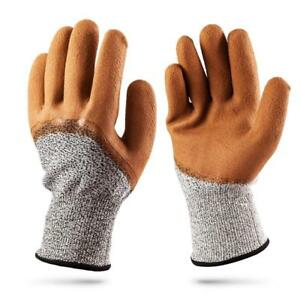 Cut Stab Resistant Gloves tfboys 2 Pack Gloves Level 5 Working Protective