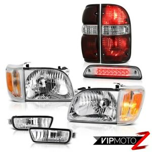 01 04 Toyota Tacoma Offroad Roof Brake Lamp Tail Lamps Headlamps Bumper Assembly