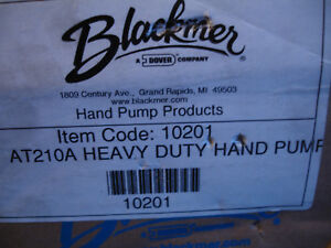 Blackmer Heavy Duty Handpump Transfer Pump At210a 3 4 Drum Barrel 210a 10201