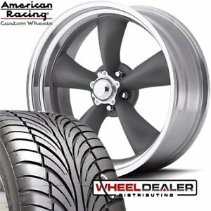 17x8 17x9 5 American Racing Torque Thrust Vn215 Wheels Tires Chevelle 1968 1972