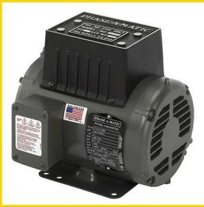 R 2 2 Hp 220 Vac Phase a matic Rotary Phase Converter