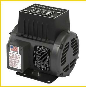 R 1 1 Hp 220 Vac Phase a matic Rotary Phase Converter